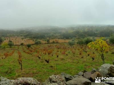 Senda Viriato; Sierra San Vicente; hiking madrid hoces del riaza rey de patones